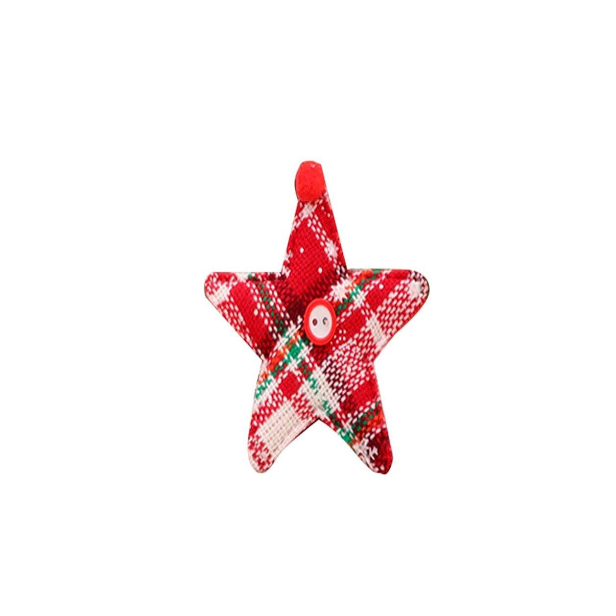 神話症状ブラケットSaikogoods クリスマス 飾り カラフルなクリスマス老人サンタクロースオーナメントクリスマスツリーの飾りメリークリスマス レッドスター 300*300