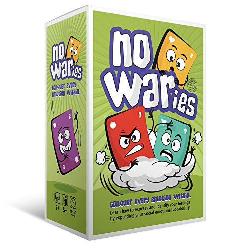 Social Emotional Games NoWaries S.T.O.R.M. | Best Educational Learning Resources for Kids & Adults | Emotional Awareness, Control, & Vocabulary | Fun for School & Therapy | Pack of 110 Playing Cards