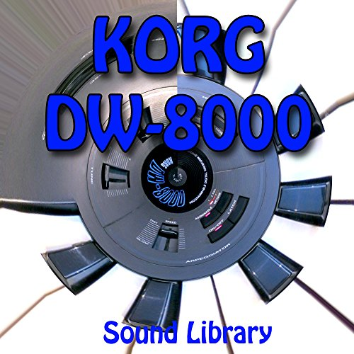 Lowest Prices! KORG DW-8000 - Large Original Factory & NEW Created Sound Library/Editors on CD or do...
