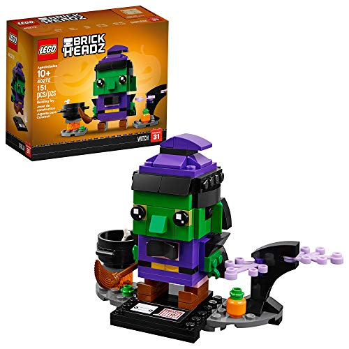 LEGO BrickHeadz Halloween Witch 40272 Building Kit (151 Pieces)...