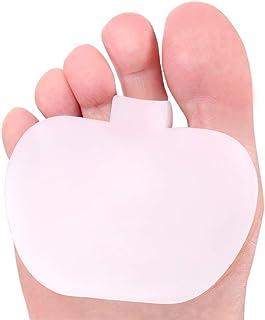 Supcare Plantillas de Gel de Pies Almohadillas de Silicona de Antepié para Neuroma de Morton & Dolores de Bolas Insertado en Zapatos Plantillas de Metatarsiano & Sesamoideo