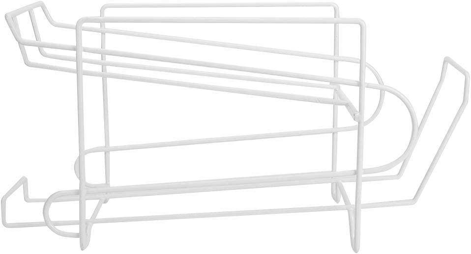 JUNNuotop 2- Tier Wire Soda Great interest and Dispenser Storage Bombing new work Food Rack Can