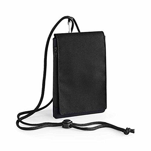 BagBase Phone Pouch XL, 10 x 16 x 2 cm, Black