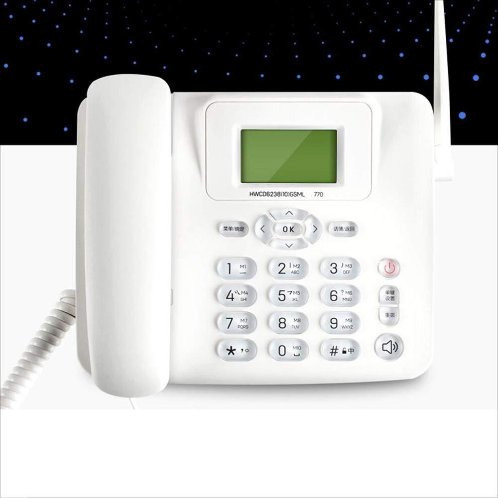 D_HOME Teléfono inalámbrico Multifunción Enchufe Tarjeta SIM Teléfono Fijo inalámbrico Oficina de Negocios Hogar Línea Fija: Amazon.es: Hogar