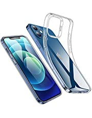ESR Clear Case Compatible with iPhone 12, iPhone 12 Pro, Slim Clear Soft TPU, Flexible Silicone Cover - Clear