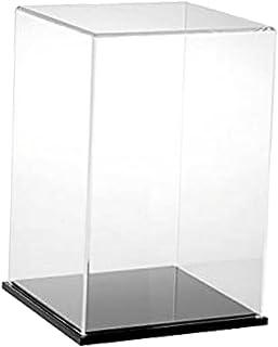 FLAMEER Caja De Exhibici/ón De Juguete De Acr/ílico Claro Moderno Caja De Herramientas A Prueba De Polvo Herramienta 13x13x23cm 18 x 14 x 30cm