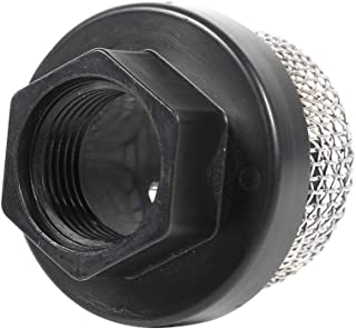 AquaTech P//N 25-184 Inline//Strainer Water Filter 3//8 Barb Fitting