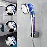 Ionic Shower Head Handheld | 3 Way Mode Function Filter Bead Replacement Higher Pressure, Water Saving