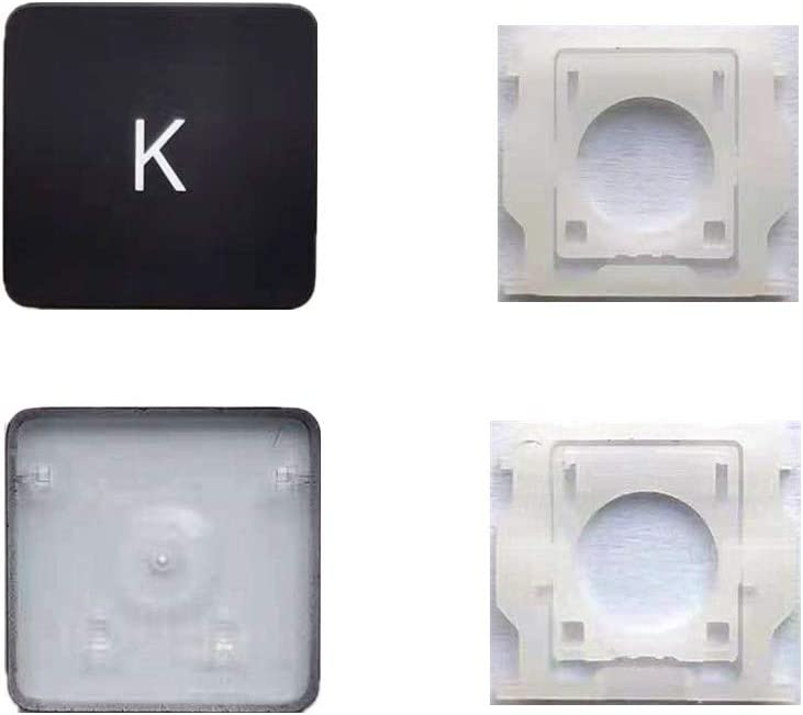 Replacement Individual K Key Cap and Hinges are Applicable for MacBook Pro/Air A2141 A2251 A2289 A2179 Keyboard to Replace The K keycap and Hinge