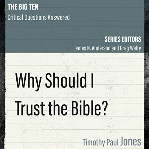 Why Should I Trust the Bible? cover art