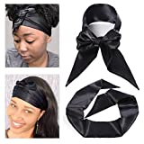 Leeven Satin Edge Scarf for Lace Front Wig Hair Glue Brushed Laying Soft