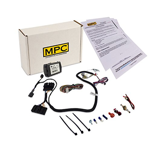 MPC 2380 Factory Fob Activated Remote Start Kit for Select Ford & Lincoln Vehicles [2011-2016]. Includes a T-Harness to Simplify Installation. All firmware preloaded – no Extra Parts Needed