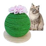 S-tubit Cactus Cat Toy, Cat Self Groomer Cat Toy Groomer de Masaje, Cat Self Groomer Cat Toy, Masaje Scratch Board, Pet Anti-Scratch Sofa Scratcher