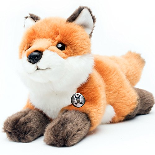 Fuchs FOXI liegend 29 cm Rotfuchs Plüschtier Kuscheltier Plüschfuchs