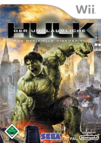 SEGA The Incredible Hulk, Wii - Juego (Wii, DEU)