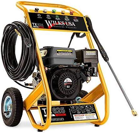 Wilks-USA TX625 Hidrolimpiadora de Alta Presión a Gasolina - 8.0HP 3950psi - 272Bar
