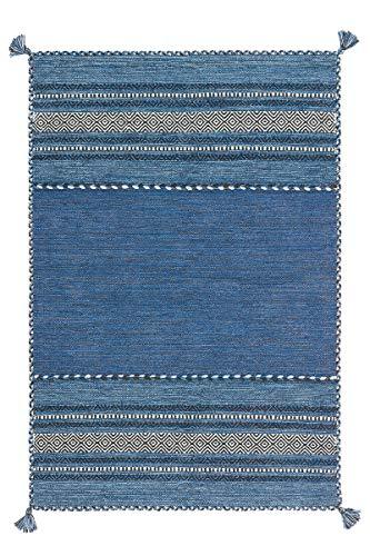 Arte Espina Teppich Navarro 2915 Blau 120cm x 170cm