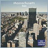 Massachusetts State Calendar 2022: Official US State Massachusetts Calendar 2022, 16 Month Calendar 2022