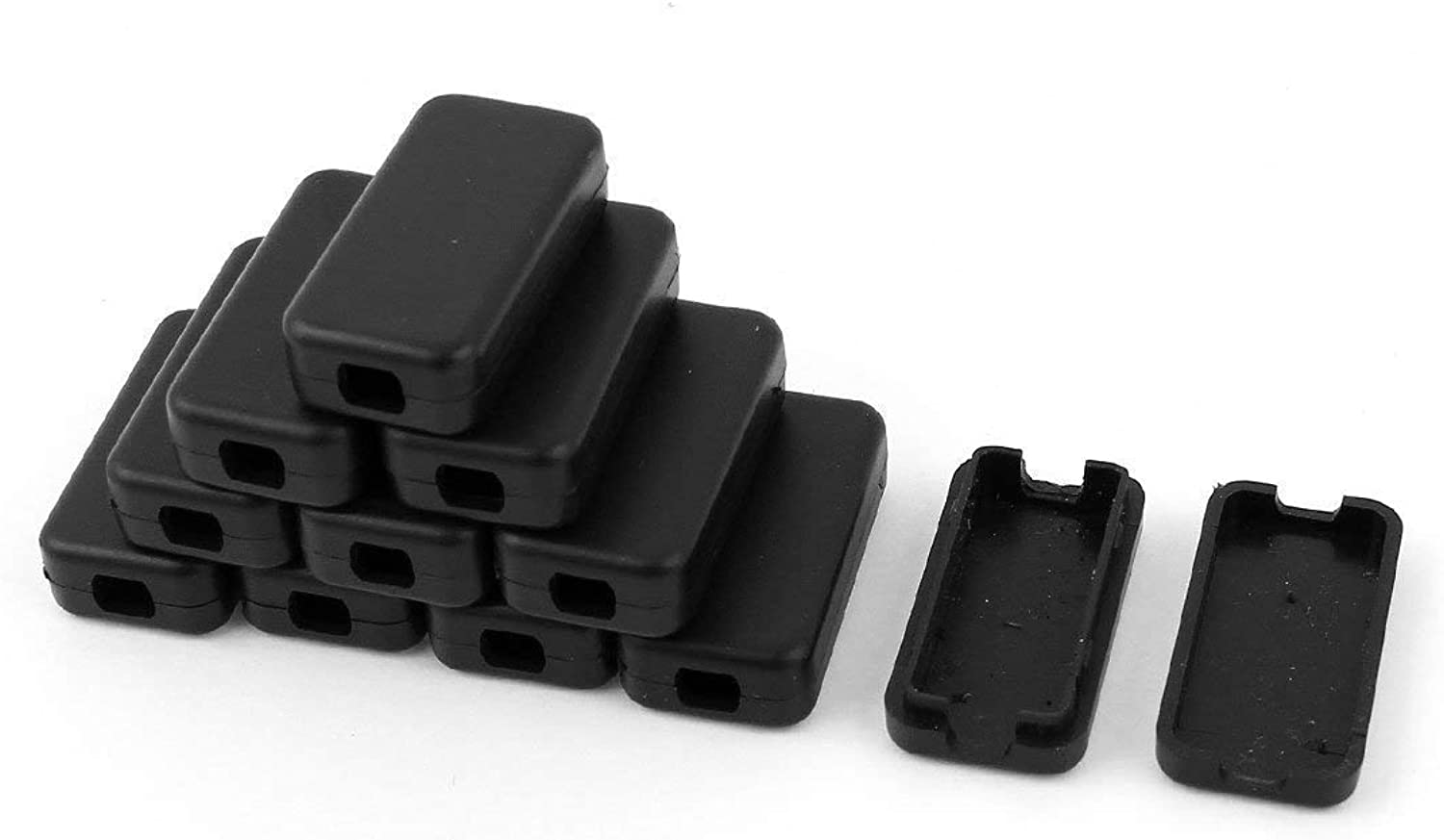 11pcs Plastic Electronic Project Case Junction Box 40mmx20mmx11mm