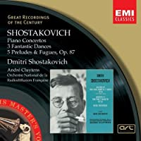 Shostakovitch: Pno Ctos / 3 Fantastic Dances by D. Shostakovich (2008-01-13)