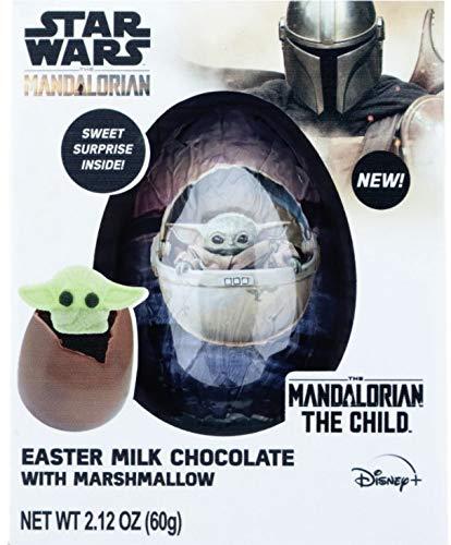 Baby Yoda Star Wars Mandalorian Hot Chocolate Melting Bomb with Marshmallow Easter Basket Stuffer 212 Ounces