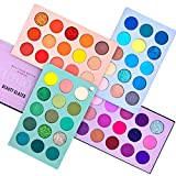 Beauty Glazed 60 Color Makeup Eyeshadow Palette 4 en 1 Color Board Pressed Glitter Eye Shadow Sombra de cuatro capas May Rotation Matte Pearlescent High Pigmentation Cosmetic Eyeshadow