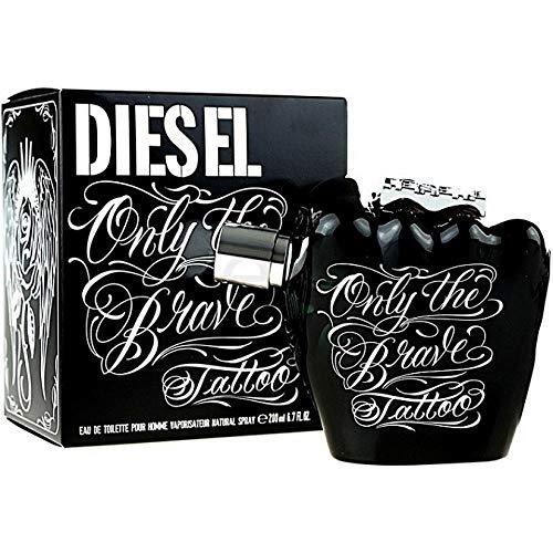 Diesel 41969 Only The Brave Tatto Ph Eau de Toilette, 200 ml