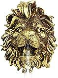 WLKY Cabeza de león para colgar en la pared, para fuente de agua, para...