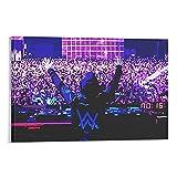 Póster de DJ Alan Walker Pintura decorativa de la pared del arte de la sala de estar carteles del dormitorio pintura de 60 x 90 cm