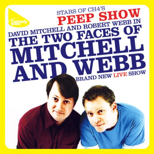 Mitchell & Webb Live audiobook cover art