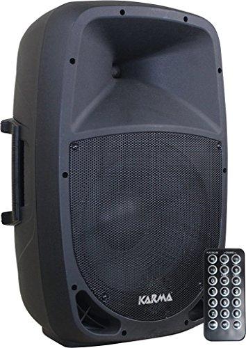 Karma RDM 10A diffusore amplificato da 160W con USB, bluetooth e telecomando (animazione, karaoke, ecc..)