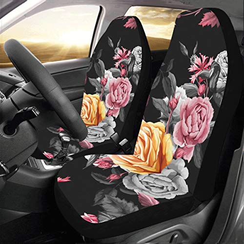 Rose Bird Flower Branch Personalizada Nuevo Fit Auto Drive Fundas asie