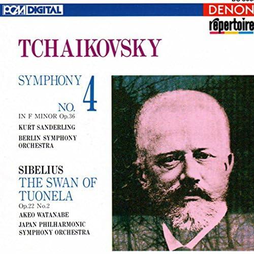 Berlin Symphony Orchestra, Japan Philharmonic Symphony Orchestra, Kurt Sanderling, Pyotr Ilyich Tchaikovsky & Akeo Watana