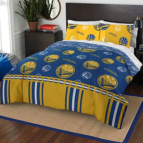 Northwest NBA Golden State Warriors Queen Bed in a Bag Complete Bedding Set #528520859