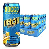 NOCCO BCAA Límon Del Sol   12 x 330ml   Zero Sugar   Functional Energy Drink   No Carbs Company   Vitamin Enhanced with 180mg Caffeine   Flavoured Functional Drinks for Health, Fitness & Everyday