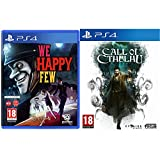 we happy few ps4 - playstation 4 & call of cthulhu - playstation 4