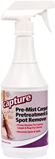Capture Carpet Cleaner Soil Release Pre-Mist 24 Ounce - Loosens the Toughest Dirt, Odors, Grease, Smell and Allergens