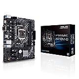 ASUS Prime H410M-D - Placa Base mATX Intel de 10a Gen LGA 1200, M.2, DDR4 2933 MHz, LAN 1Gb, HDMI, VGA, COM, USB 3.2 Gen 1, Puerto COM y Cabezal LPT