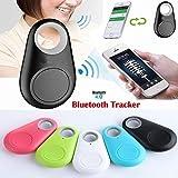 Buscador de Llaves, Smart Tag GPS Tracker Alarma inalámbrica Bluetooth Anti-perdida Buscador de Llaves, Anti-pérdida Llavero Sensor de Alarma Sensor inalámbrico Control Remoto Selfie, para Perros