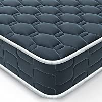 BedStory Mattress, Single/Double Mattress, Sleeping Sprung Mattress with Skin-Friendly and Breathable Fabric, Fire...
