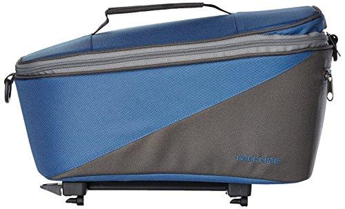 Racktime Unisex– Erwachsene Talis Gepäckträgertasche, blau, 35 x 28 x 26 cm
