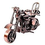SwirlColor Modell Motorrad, Klassische Metall Motorrad Modell Kreative Geburtstagsgeschenk für...