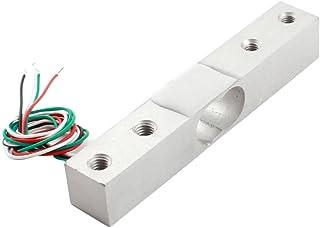 Aexit 4Pcs 50Kg Sensors 110lb 3-Wired Half-Bridge Electronic Vibration Sensors Weighing Sensor