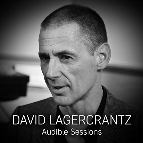 David Lagercrantz audiobook cover art
