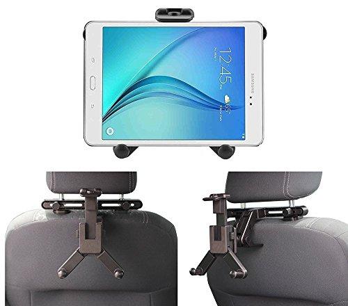 Navitech Schwarze Tablet PC Auto Kopfstützen/Rücksitz Erweiterbare Feste Griff Montierung Für Das Yuntab 7 Inches 8G Q88 Allwinner A33 Quad-core Tablet