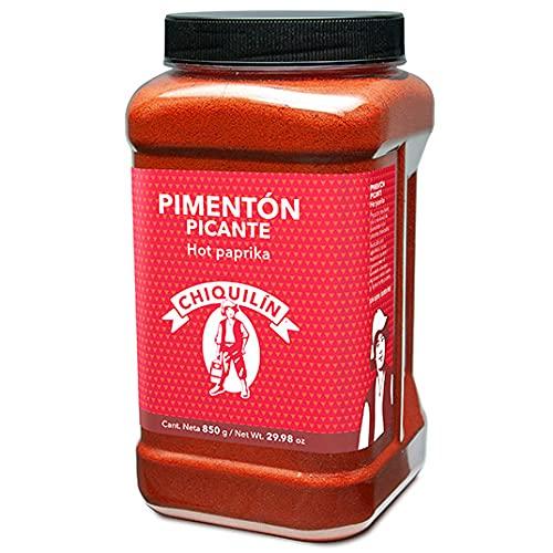 CHIQUILÍN - Pimentón picante, bote de 850 gramos - Productos Gourmet desde 1909