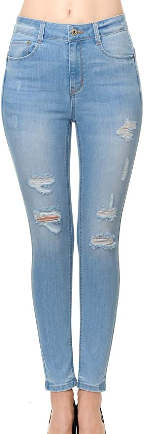 Amazon Com Wax Jean Jean Para Mujer Con Diseno De Butt I Love You En Denim De Algodon Fino Clothing