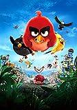 ZZMMUW 1000 Stücke Holzpuzzle Angry Birds Filmplakate Puzzles Berühmte Holzpuzzle für Erwachsene...