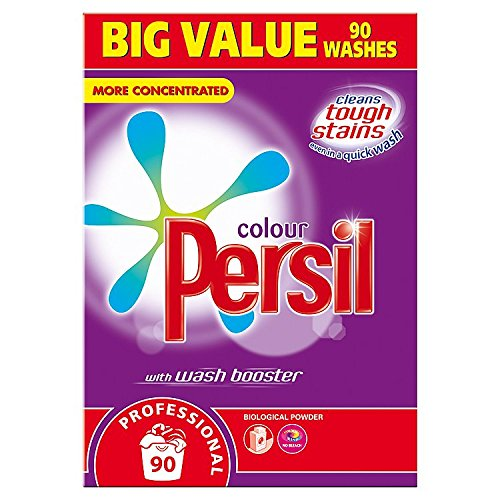 Persil Professional Colour with Wash Booster Biological Powder 90 Washes