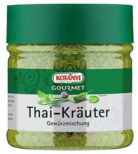 Kotanyi Gourmet Thai-Kräuter Gewürzmischung   typischer Geschmack nach Ingwer, Koriander und Zitronengras, 151 g